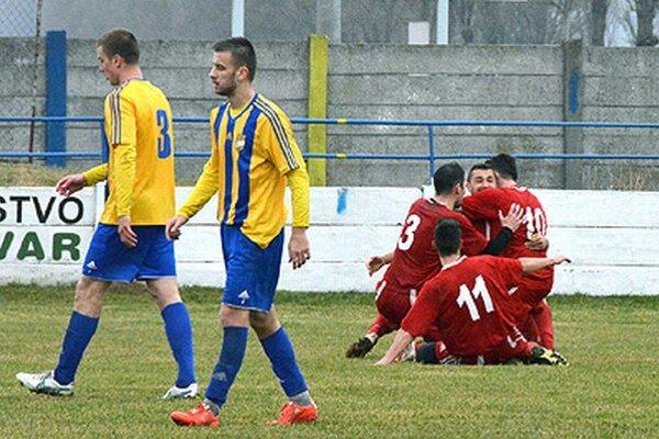 Futbalisti Vrábeľ prvý jarný domáci zápas zvládli, vdueli srezervou DAC-u sa tešili ztroch bodov.