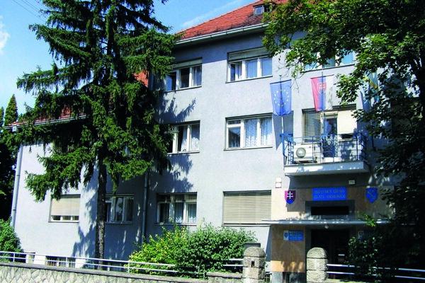 Mestský úrad Zlaté Moravce.