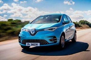 Elektrický Renault Zoe.