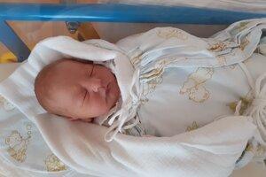 Alex Mihálik (3660 g, 51 cm) sa narodil 19. septembra Monike a Martinovi z Hornej Breznice