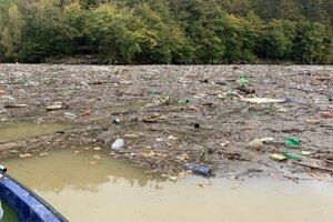 Odpad na Ružíne.