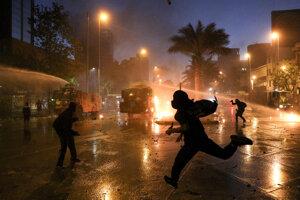 Nepokoje v Čile.