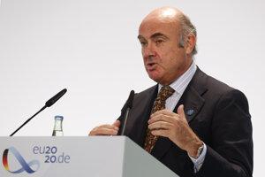 Luis de Guindos, viceprezident Európskej centrálnej banky.