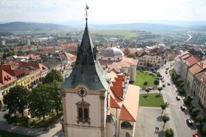 Mesto Levoča.