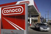 Benzínová stanica americkej ropnej spoločnosti ConocoPhillips.
