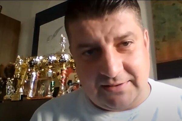 Poslanec Rudolf Dupkala počas online rokovania PSK.