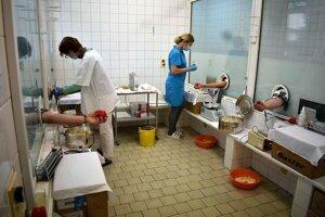 Hematologicko-transfúzne oddelenie v Považskej Bystrici