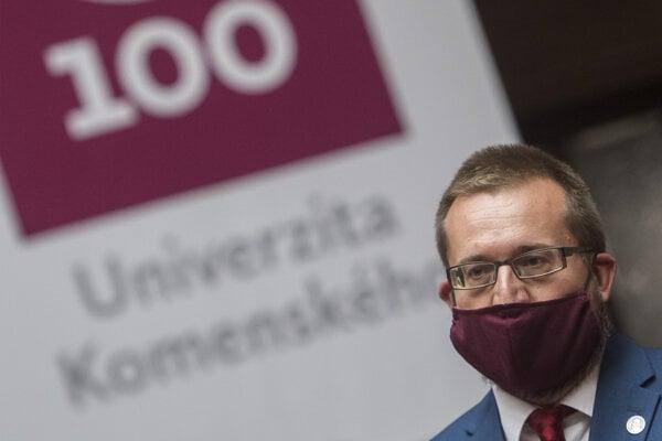 Marek Števček, rektor Univerzity Komenského.