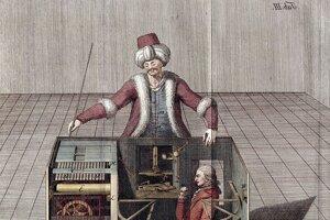 Stroj Turek, ktorý vydávali za šahový automat, v skutočnosti sa v jeho vnútri skrýval človek, ktorý Turka riadil