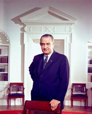 Lyndon Baines Johnson.