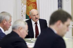 Bieloruský prezident Alexandr Lukašenko.