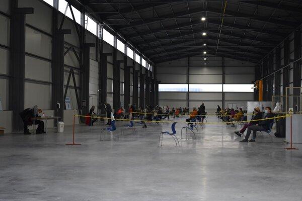 Novú výrobnú halu využili na vlastné testovanie