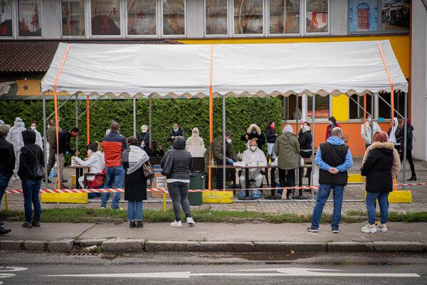 Jedno z odberných miest v Bratislave.