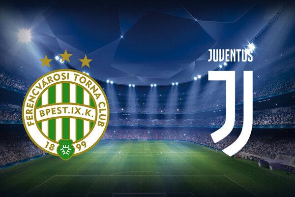 Ferencváros Budapešť - Juventus Turín, Liga majstrov dnes LIVE.