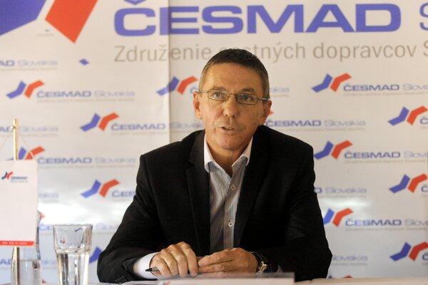 Predseda Česmad pre stredoslovenský región Ľubomír Honíšek.