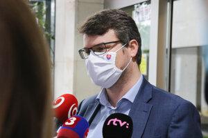 Podpredseda vlády pre legislatívu a strategické plánovanie Štefan Holý.