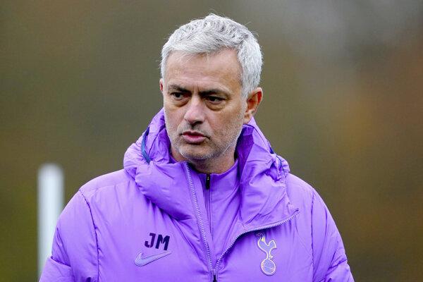 Portugalský tréner José Mourinho.