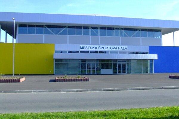 Športová hala v Humennom.