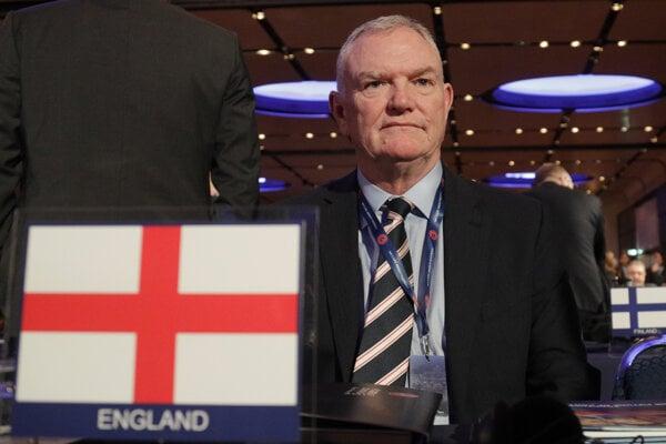 Prezident FA Greg Clarke.