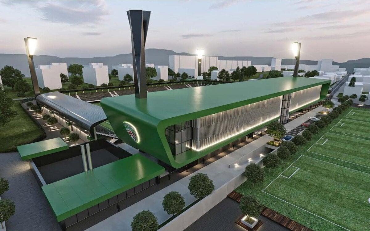 Mesto Prešov a kraj dajú takmer 14,5 milióna na futbalový štadión bez vybavenia