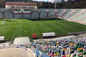 Štadión v Tbilisi.