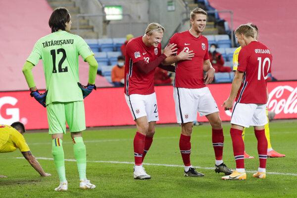 Futbalisti Nórska si v Rumunsku nezahrajú.