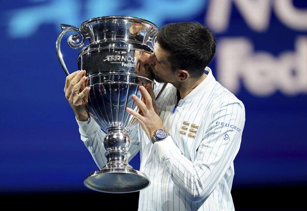 Novak Djokovič ukončil rok 2020 ako svetová jednotka.