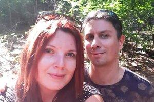 Jozef Fábry s priateľkou.