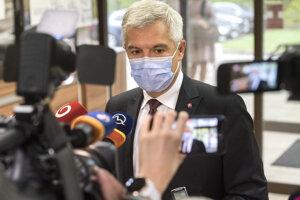 Minister zahraničných vecí a európskych záležitostí Ivan Korčok (nominant SaS)