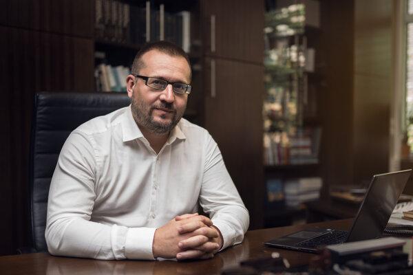 Rektor Univerzity Komenského Marek Števček je vo funkcii dva roky.
