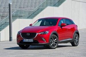 Mazda CX-3 skončila na 9. mieste medzi spoľahlivými 3-ročnými autami.