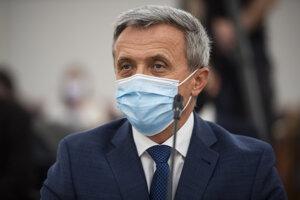 Ján Hrivnák na vypočutí kandidátov na funkciu generálneho prokurátora.