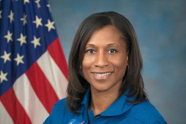 Astronautka Jeanette Epps.