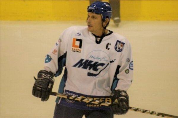 Branislav Stolárik v martinskom drese.