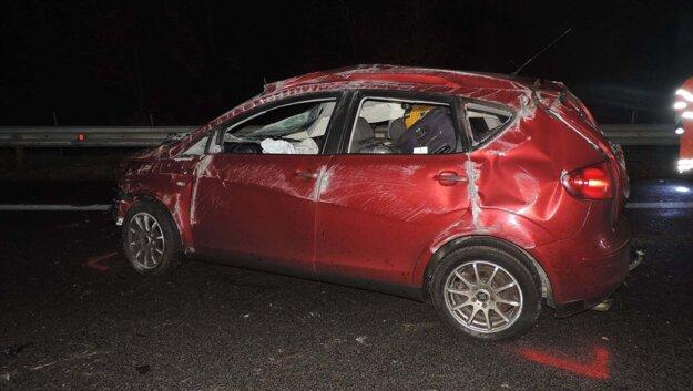 Vodič haváriu neprežil.