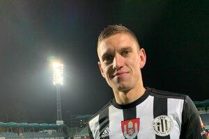 Karol Mészáros v drese Dynamo České Budějovice.