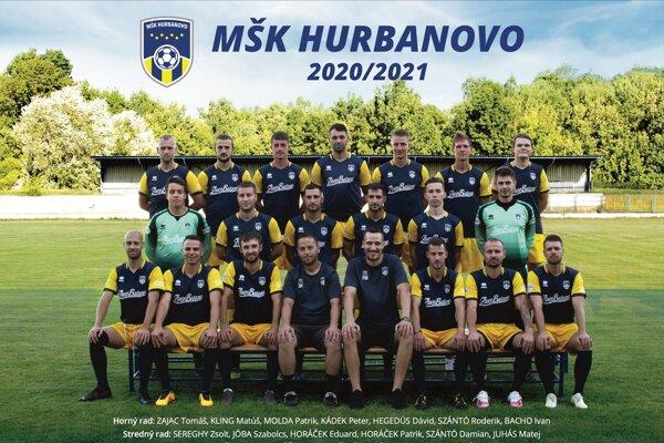 MŠK Hurbanovo - účastník IV. ligy - Juhovýchod