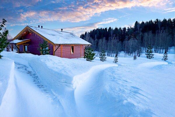 Záujem je, tak ako každý rok, o silvestrovské pobyty na chate.