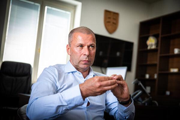 Dočasný policajný prezident Peter Kovařík.