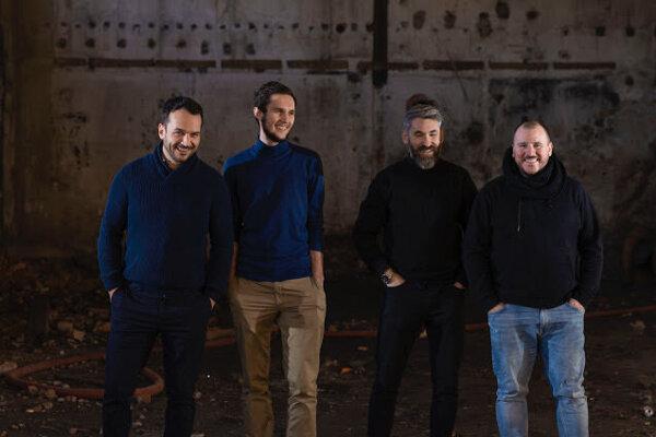 Zakladatelia Party – Kultúrnej platformy. Zľava Juraj Marček, Jakub Gallo,Peter Trmos a Radoslav Kolek.