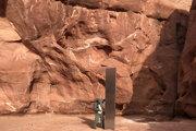 Monolit v americkom štáte Utah.