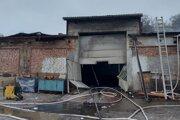 Prípadom požiaru v levočskej hale sa zaoberá polícia.
