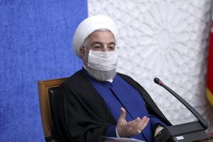 Iránsky prezident Hasan Rúhání.