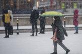 V Bratislave napadol prvý sneh, pozrite si fotogalériu