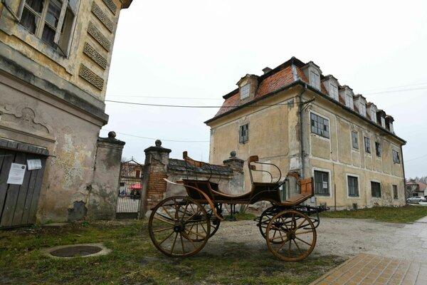Kaštieľ v Jablonici.
