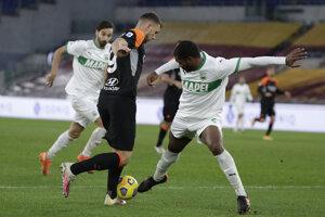 Zápas AS Rím - Sassuolo.