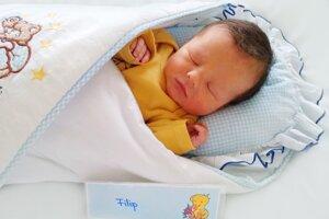 Filip Valter z Prievidze sa narodil 1.12. v Bojniciach