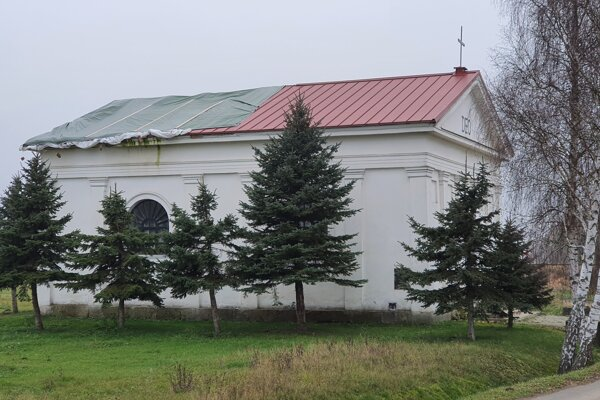 Kostol v Zelenom.