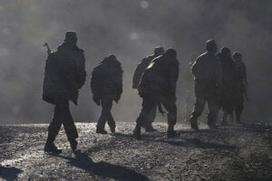 Arménski vojaci.