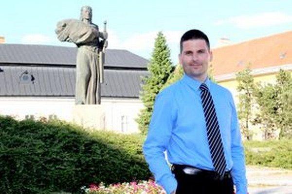 Róbert Švec kandidoval na primátora aj pred štyrmi rokmi.